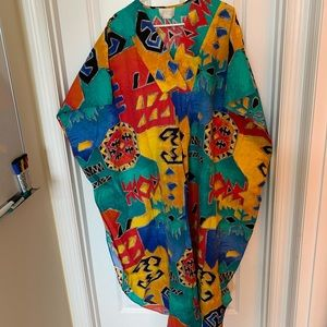 💃🏻B2G1 free- Multi-color dressing gown